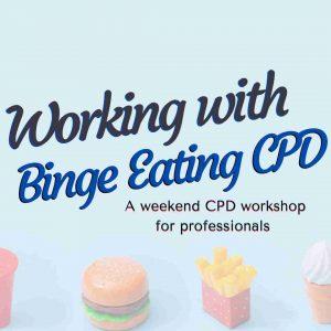 Working with binge eating training
