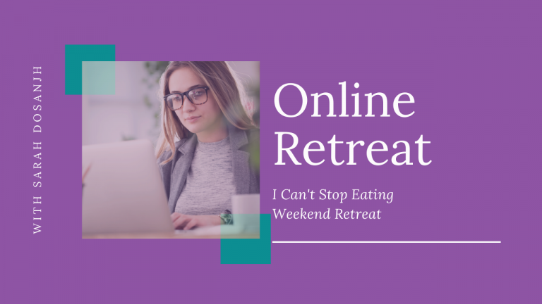i can't stop eating weekend retreat